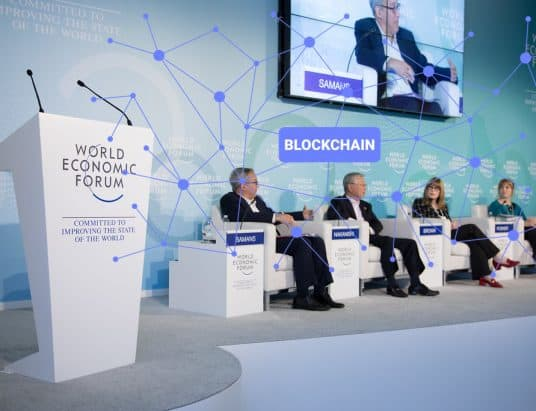 WEF Says Blockchain Needed To Create Trust