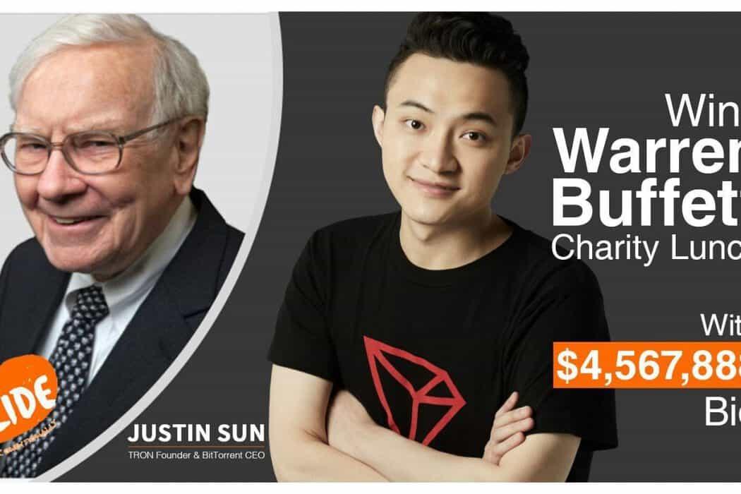 Warren Buffett will dine with Justin Sun