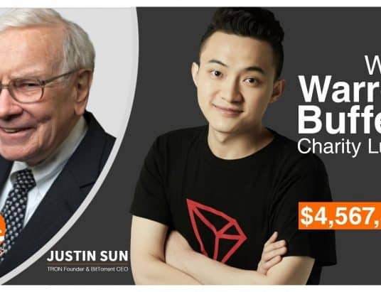 Warren Buffett will dine with Justin Sun
