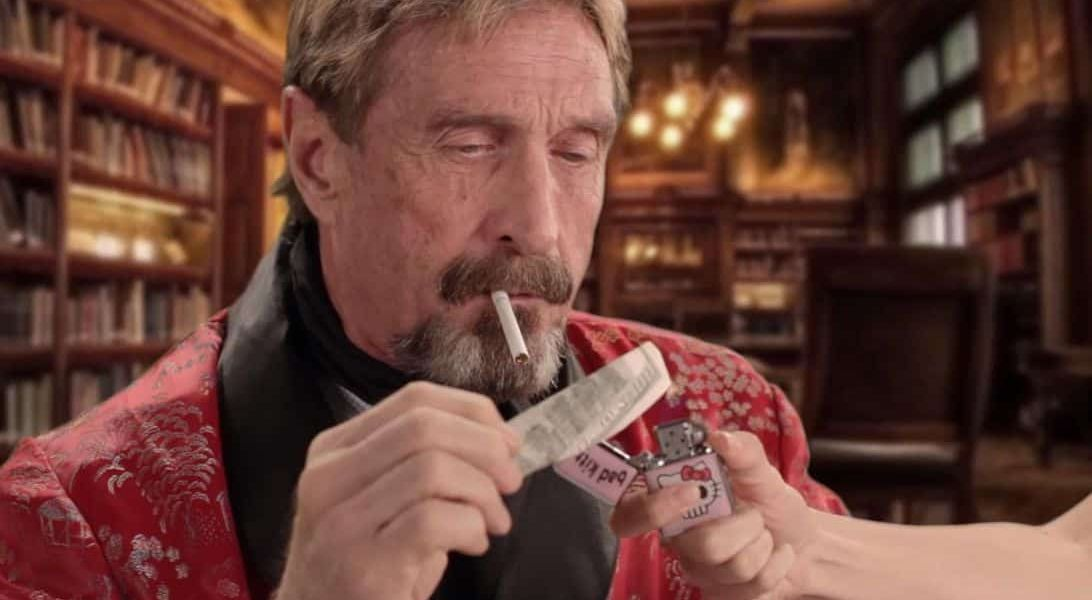 The Price of Bitcoin Must Surge 13,800% in 2020 to Stop John McAfee from Honoring Bizarre Pledge