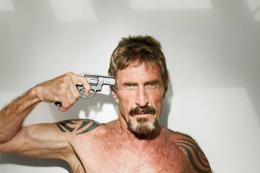 """John McAfee: Bitcoin is the """"True Shitcoin"""" and the """"Hotmail of Crypto"""""""