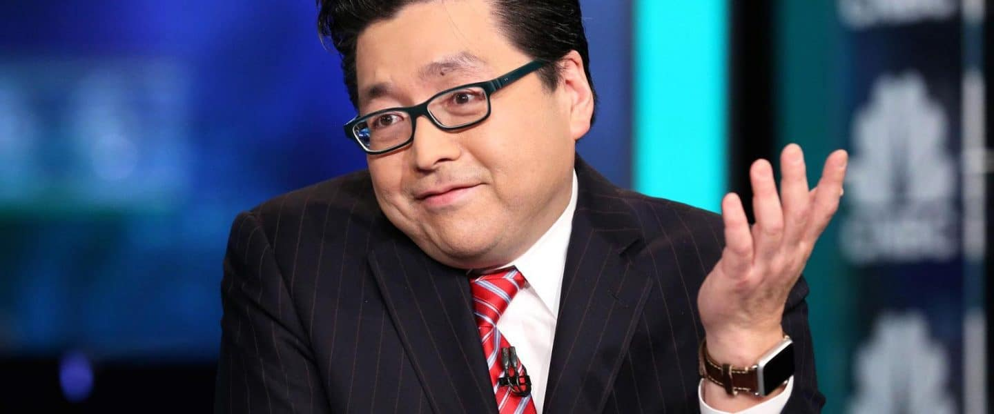 Fundstrat Analyst Tom Lee Suggests An Incoming 200% Bitcoin Rally