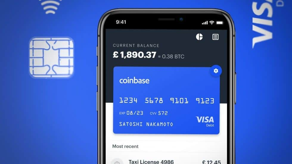 "Coinbase Becomes Principal Visa Member as First ""Pure"" Crypto Company"