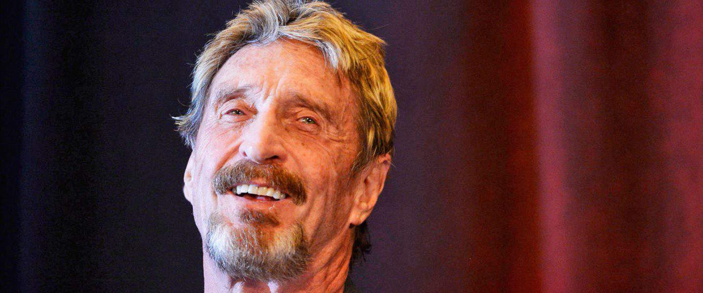 """John McAfee Announces New """"Ghost"""" Privacy Coin"""